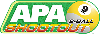 APA 9-ball Shootout Logo