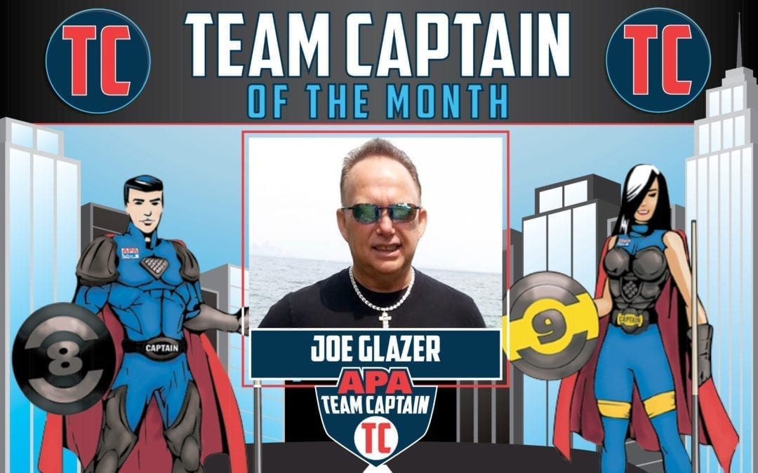 Team Captain of the Month: Joe Glazer
