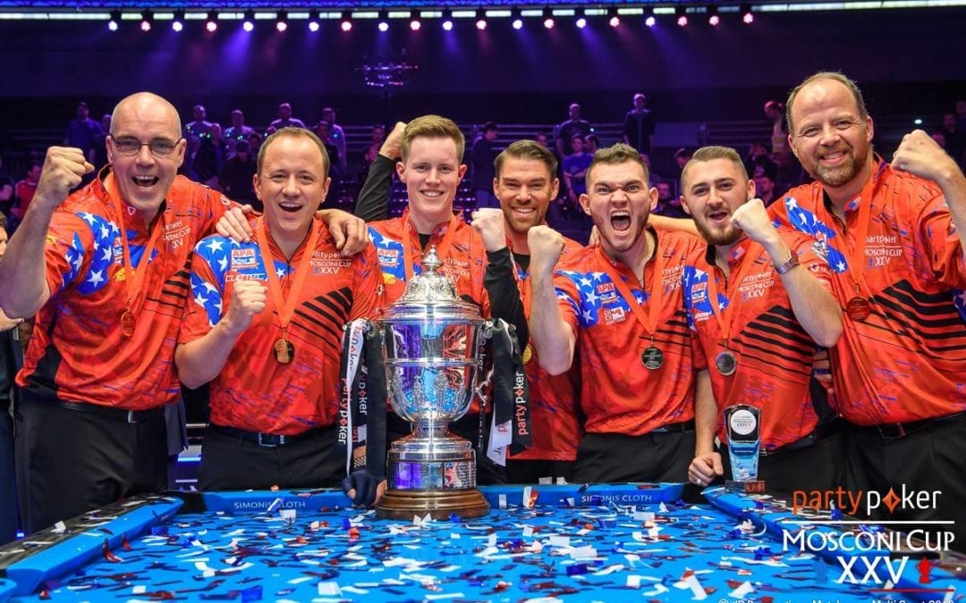 Bowman's Top 3 Moments from the Mosconi Cup