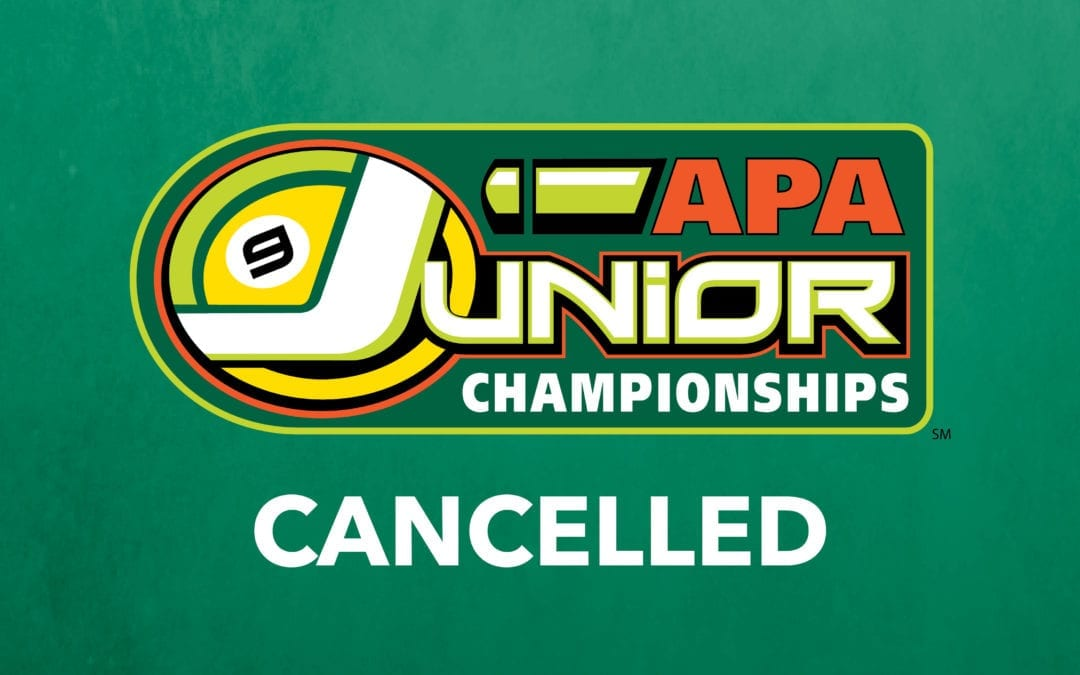 APA Cancels 2021 Junior Championships