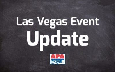 APA Makes Changes to 2021 Vegas Event Dates